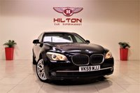 USED 2009 59 BMW 7 SERIES 3.0 730D SE 4d AUTO 242 BHP SAT/NAV + LEATHER + BLUETOOTH + SERVICE HISTORY
