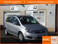USED 2014 64 VAUXHALL ZAFIRA 1.8 EXCLUSIV 5d 120 BHP 4 Service Stamps