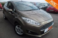 USED 2014 63 FORD FIESTA 1.2 ZETEC 3d 81 BHP ONE OWNER 10,000 MILES