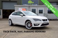 USED 2014 SEAT LEON 2.0 TDI FR TECHNOLOGY 3d 150 BHP *FROM £159 MONTHLY*