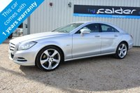 USED 2011 61 MERCEDES-BENZ CLS CLASS 3.0 CLS350 CDI BLUEEFFICIENCY 4d AUTO 265 BHP