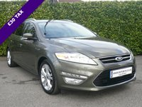 USED 2013 63 FORD MONDEO 2.0 TITANIUM X BUSINESS EDITION TDCI ESTATE 5d 161 BHP