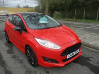 2015 FORD FIESTA 1.0 ZETEC S RED EDITION 3d 139 BHP £10195.00