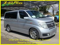 USED 2002 52 NISSAN ELGRAND Highway Star 3.5 Automatic 8 Seats +ONLY 57K MILES+TWIN SUNROOFS+