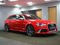 USED 2014 14 AUDI A6 4.0 RS6 AVANT TFSI V8 QUATTRO 5d AUTO 560 BHP 1 YEARS FULL AUDI WARRANTY