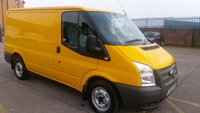 USED 2012 62 FORD TRANSIT 2.2 300 LR 1d 124 BHP  X AA F/S/H 1 OWNER ///