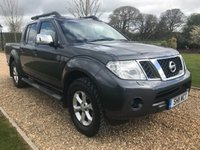 USED 2011 11 NISSAN NAVARA 2.5 DCI TEKNA 4X4 DCB 1d 188 BHP HEATED LEATHER, BLUETOOTH, CRUISE