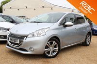 USED 2013 13 PEUGEOT 208 1.6 ALLURE E-HDI 5d 92 BHP BLUETOOTH, 6 MONTHS WARRANTY & MORE