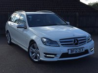 USED 2012 12 MERCEDES-BENZ C CLASS 2.1 C220 CDI BLUEEFFICIENCY SPORT ESTATE AUTO 168 BHP