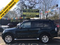 USED 2016 16 MITSUBISHI SHOGUN 3.2 DI-D SG3 5d AUTO 187 BHP LOW MILEAGE 4X4, 7 SEATER, LEATHER SEATS, ALLOY WHEELS, SAT NAV, DAB RADIO, BLUETOOTH, ROCKFORD ACOUSTICS, HEATED SEATS, CRUISE CONTROL, AIR CON, SUN ROOF