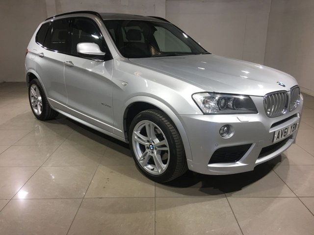View our 2011 61 BMW X3 3.0 XDRIVE30D M SPORT 5d AUTO 255 BHP