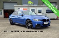 USED 2014 BMW 3 SERIES 2.0 320D M SPORT 181 BHP *FULL LEATHER INTERIOR* *FROM £199 MONTHLY*