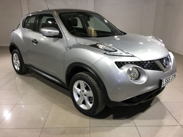 View our 2015 65 NISSAN JUKE 1.6 VISIA 5d 94 BHP
