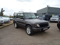 USED 2004 04 LAND ROVER DISCOVERY 2.5 LANDMARK TD5 5d 136 BHP 1 PREVOIUS OWNER 9 SERVICE STAMPS  2 KEYS MOT 26/01/2 FULL LEATHER WITH BLACK PIPEING