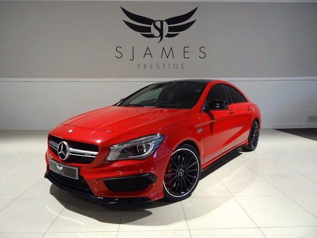 2015 MERCEDES-BENZ CLA CLASS 2.0 CLA45 AMG Speedshift DCT 4-MATIC 4dr (start/stop)