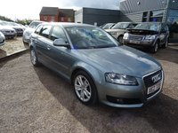 USED 2009 AUDI A3 1.9 TDI E SPORT 5d 103 BHP 4 SERVICE STAMPS PLUS RECEIPTS