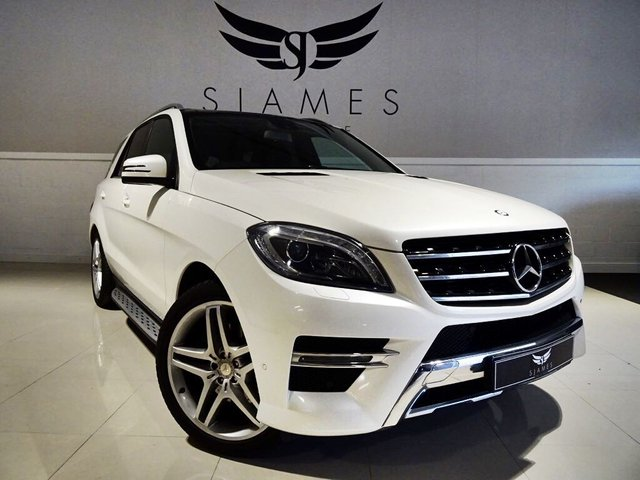 2013 63 MERCEDES-BENZ M CLASS 3.0 ML350 CDI BlueTEC AMG Sport 7G-Tronic Plus 5dr