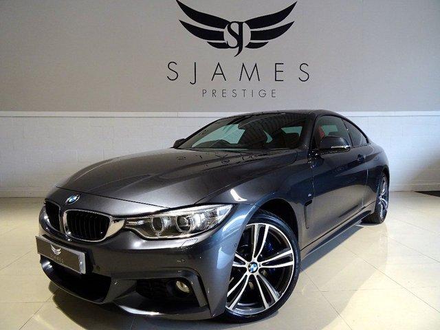 2015 BMW 4 SERIES 3.0 430d M Sport xDrive 2dr