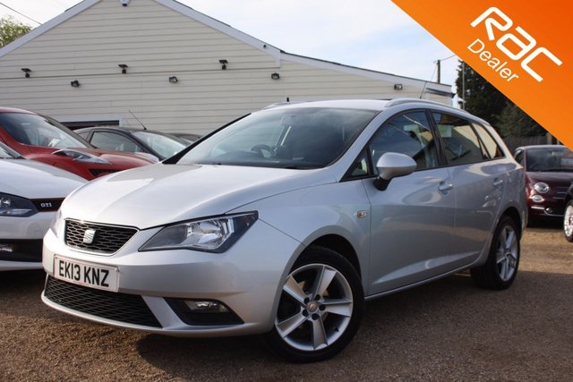View our 2013 13 SEAT IBIZA 1.4 TOCA 5d 85 BHP