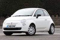 USED 2010 10 FIAT 500 1.2 POP 3d 69 BHP No advisories, great condition