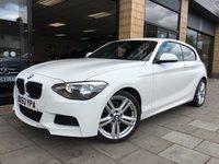2013 BMW 1 SERIES 1.6 116I M SPORT 3d 135 BHP £12000.00