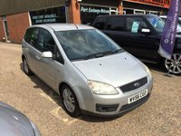 USED 2006 56 FORD C-MAX 2.0 C-MAX GHIA 5d 136 BHP FAMILY MPV IN SILVER APPROVED CARS ARE PLEASED TO OFFER THIS FORD C-MAX 2.0 C-MAX GHIA 5d 136 BHP FAMILY MPV IN SILVER A GREAT DIESEL MPV WITH A NEW 1 YEARS MOT AND SOME HISTORY BUT DUE TO ITS AGE AND MILEAGE IS BEING OFFERED AS A TRADE CLEARANCE CAR.THE CAR DRIVES VERY WELL AND IS IN GOOD CONDITION
