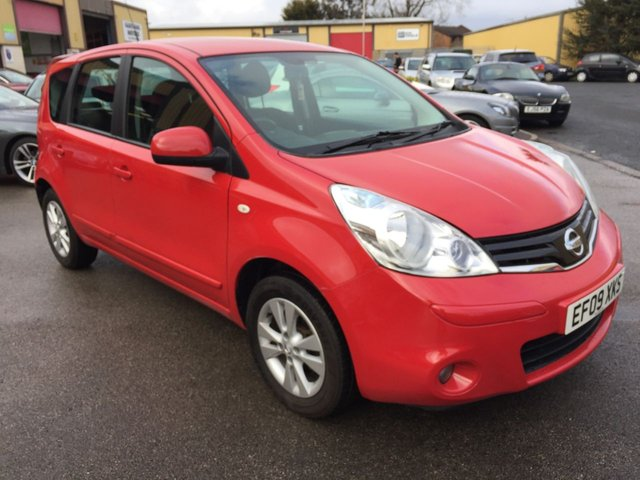 2009 09 NISSAN NOTE 1.5 ACENTA DCI 5d 86 BHP
