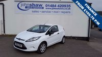 2012 FORD FIESTA 1.4 TDCI 70PS VAN £4250.00