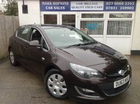 USED 2013 63 VAUXHALL ASTRA 1.7 SRI CDTI ECOFLEX S/S 5d 128 BHP ** 47K. FSH..JUST ONE LADY DRIVER..WELL EQUIPPED SRI CD TI MODEL **