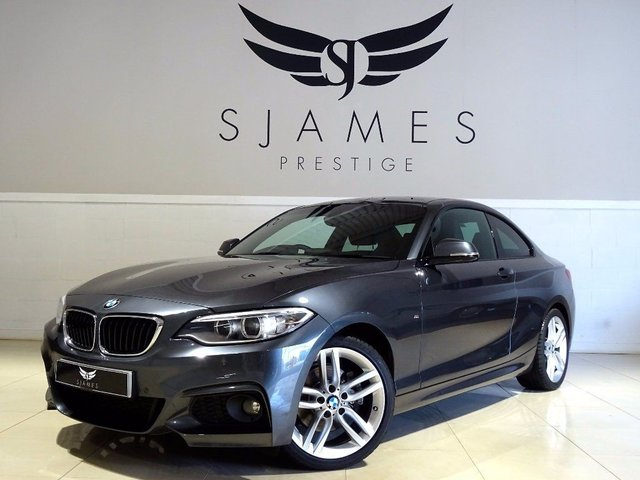 2015 BMW 2 SERIES 2.0 220d M Sport Auto 2dr (start/stop)