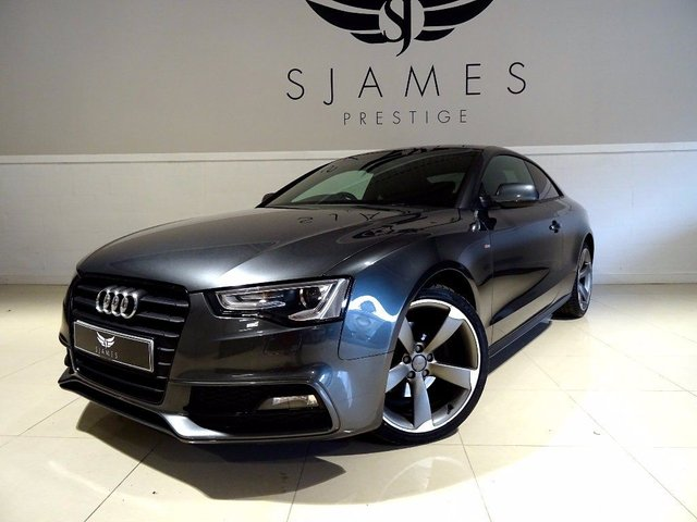2013 AUDI A5 2.0 TDI Black Edition Multitronic 2dr