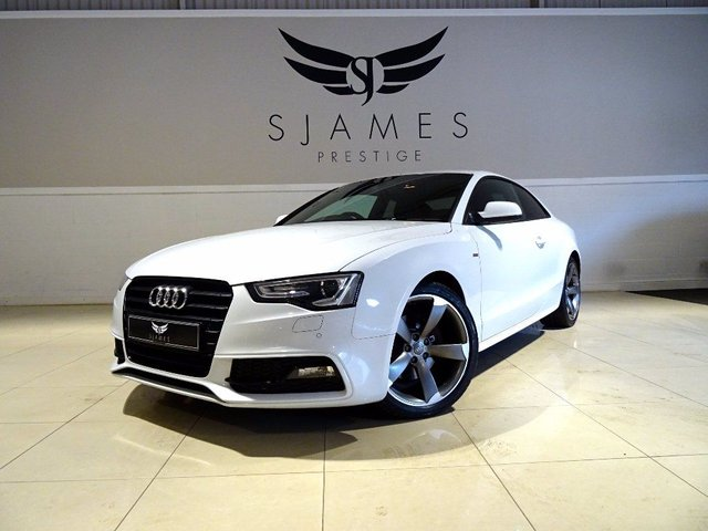 2012 AUDI A5 2.0 TFSI Black Edition Multitronic 2dr
