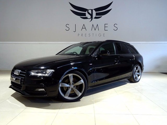 2012 AUDI A4 AVANT 2.0 TFSI Black Edition Multitronic 5dr