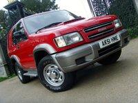 2001 ISUZU TROOPER 3.0 3.0 SWB TD 1d 157 BHP £2699.00