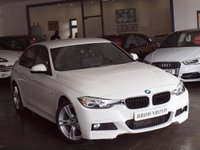 USED 2013 63 BMW 3 SERIES 2.0 318D M SPORT 4d 141 BHP LEATHER+FSH+LOW MILES