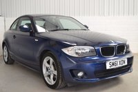 USED 2012 61 BMW 1 SERIES 2.0 118D SPORT 2d AUTO 141 BHP