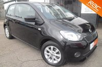 USED 2014 14 SKODA CITIGO 1.0 ELEGANCE GREENTECH 3d 74 BHP GREAT EXAMPLE