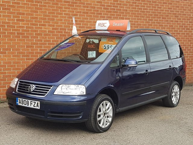 2008 08 VOLKSWAGEN SHARAN 1.9 SE TDI 5d AUTO 7 SEATS KIDS BOOSTER SEATS