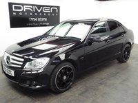 USED 2012 12 MERCEDES-BENZ C CLASS 2.1 C220 CDI BLUEEFFICIENCY SE 4d AUTO 168 BHP SALOON