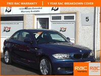 USED 2010 10 BMW 1 SERIES 2.0 118D M SPORT 2d 141 BHP Low miles , £30 a year Tax , M Sport Syling