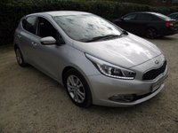 USED 2014 14 KIA CEED 1.6 2 ECODYNAMICS CRDI 5d 126 BHP Bluetooth, High MPG.