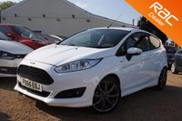 USED 2016 66 FORD FIESTA 1.0 ST-LINE 3d 139 BHP Sat Nav, Bluetooth & ford warranty