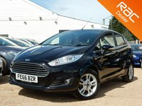 USED 2016 66 FORD FIESTA 1.0 ZETEC 5d 99 BHP Bluetooth, Ford Warranty & more