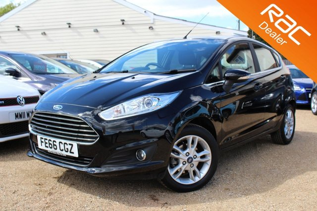 View our 2016 66 FORD FIESTA 1.0 ZETEC 5d 99 BHP