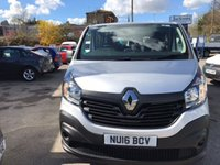 USED 2016 16 RENAULT TRAFIC 1.6 LL29 BUSINESS ENERGY DCI 5d 125 BHP