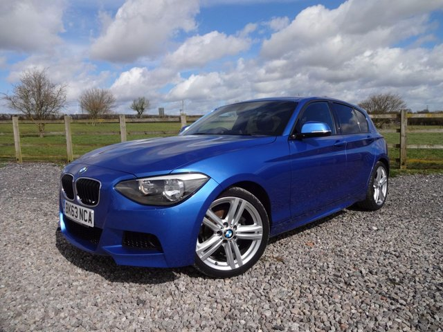 2013 63 BMW 1 SERIES 1.6 116I M SPORT 5d 135 BHP