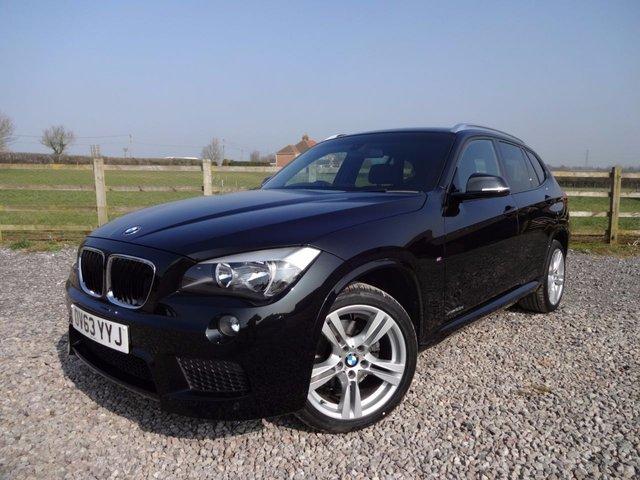 2013 63 BMW X1 2.0 XDRIVE25D M SPORT 5d AUTO 215 BHP