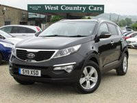 USED 2011 11 KIA SPORTAGE 2.0 CRDI KX-2 5d 134 BHP Easy To Drive Comfortable Crossover