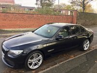 USED 2012 61 BMW 7 SERIES 3.0 730D M SPORT 4d 242 BHP
