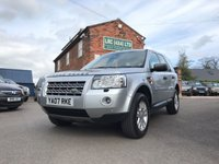USED 2007 07 LAND ROVER FREELANDER 2.2 TD4 XS 5d 159 BHP Full Land Rover Service History